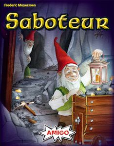 Saboteur: The Game of Mining, Sabotage, and Gold