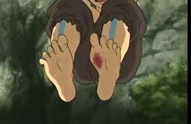 Anyone know what the scar on aang's foot is? : TheLastAirbender